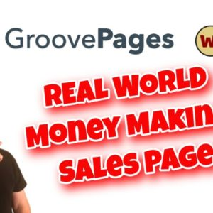 How To Build A Sales Page using GroovePages and Warrior Plus | REAL WORLD EXAMPLE and Tutorial