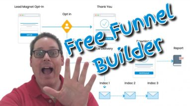 How To Create A Free Landing Page For Affiliate Marketing | Free Funnel Builder