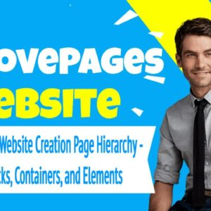 GroovePages Website Creation Page Hierarchy - What are Blocks, Containers, and Elements
