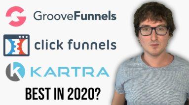 GrooveFunnels vs ClickFunnels vs Kartra | Best Funnel Builder 2020